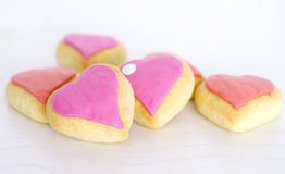 Valentines day cookies Royalty Free Stock Image