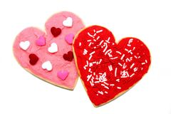 Valentines Day cookies Stock Image