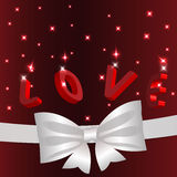 Valentines day crafts Stock Image