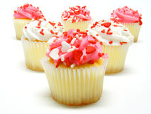 Valentines Day cupcakes Royalty Free Stock Image