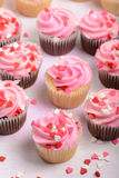 Valentines Day Cupcakes Royalty Free Stock Photos