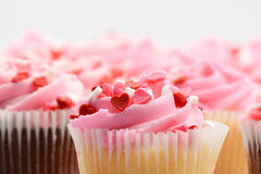 Valentines Day Cupcakes Royalty Free Stock Photo