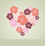 Valentines Day decoration with heart. Stock Photography