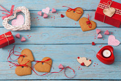Valentines day decoration Royalty Free Stock Photography