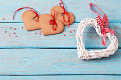 Valentines day decoration Stock Photography