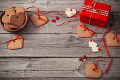 Valentines day decoration Stock Images