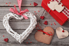 Valentines day decoration Royalty Free Stock Photo