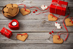 Valentines day decoration Royalty Free Stock Photos