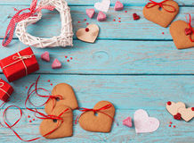 Valentines day decoration Royalty Free Stock Image