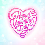 Valentines Day decorative greeting royalty free illustration