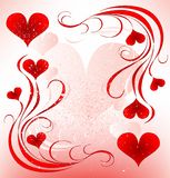 Valentines day design Royalty Free Stock Image