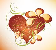 Valentines day design Stock Photo