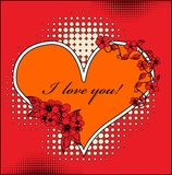 Valentines day design Stock Photography