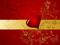 Valentines Day design. Royalty Free Stock Photo