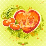 Valentines Day design. Royalty Free Stock Photo