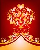 Valentines day design. Pretty design for flyers , poster and cards etc Stock Photo
