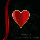 Valentines day  design background. Royalty Free Stock Images