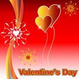 Valentines day design background. Stock Photos