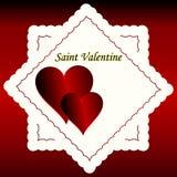 Valentines day design background. Stock Image