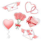 Valentines_day_design1 Royalty Free Stock Photography