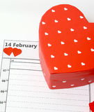 Valentines day Feb 14 Royalty Free Stock Image