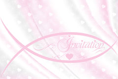 Valentines day festive bokeh background - Stock Illustration. Valentines day festive background with bokeh and hearts in light pink - vector illustration Royalty Free Stock Images