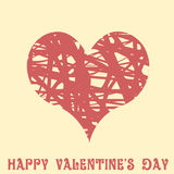 Valentines Day Flat design Royalty Free Stock Image