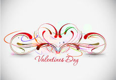 Valentines day floral design Stock Photo
