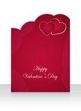 Valentines Day flyer Royalty Free Stock Photography