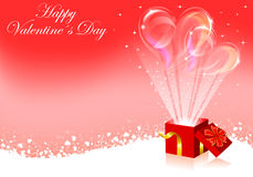 Valentines Day frame Royalty Free Stock Image