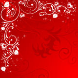 Valentines Day Frame Royalty Free Stock Photo