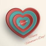 Valentines Day frame Stock Photo