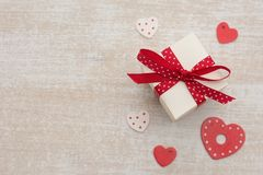 Valentines day gift Royalty Free Stock Image
