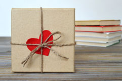 Valentines Day gift box Royalty Free Stock Photos