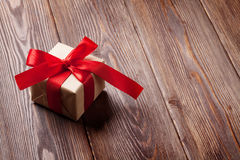 Valentines day gift box Royalty Free Stock Images