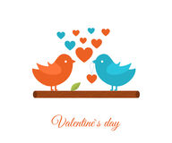 Valentines Day gift card Stock Images