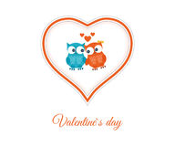 Valentines Day gift card Stock Photography