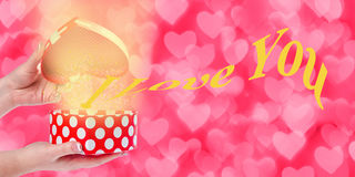 Valentines Day Gift Stock Photography
