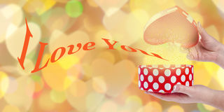 Valentines Day Gift Royalty Free Stock Images