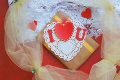 Valentines Day gift. Royalty Free Stock Image