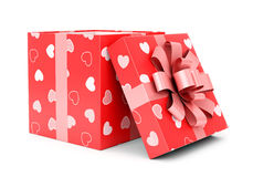 Valentines day giftbox Royalty Free Stock Photography