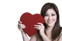 Valentines Day Girl Royalty Free Stock Photo