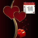Valentines day greeting. Stock Images