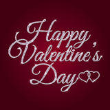 Valentine's Day greeting banner Stock Photos
