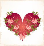 Valentines day greeting card Stock Photography