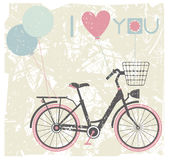 Valentines day greeting card background Stock Images