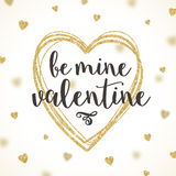 Valentines day - greeting card Royalty Free Stock Photography