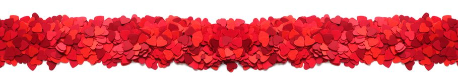 Valentines Day greeting card frame royalty free stock photo