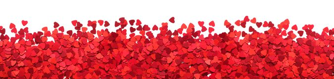 Valentines Day greeting card frame royalty free stock images
