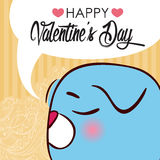 Valentines day greeting card. Royalty Free Stock Image